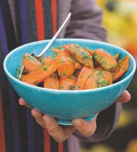 vichy carrots-Sarah Raven's Garden Cookbook-camel CSA 03-12-09