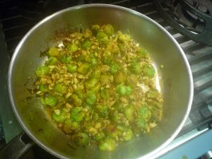 sprouts with chipotle