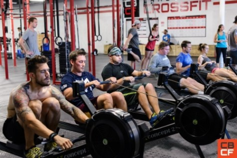 camelback crossfit old town scottsdale rowing