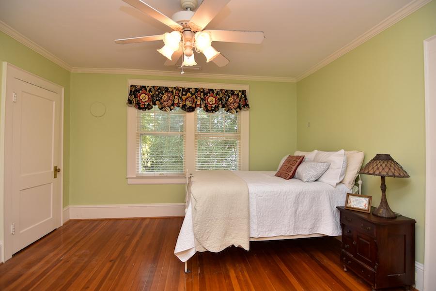 New Listing, 426 Carolina Circle in Buena Vista, Winston Salem. Upstairs bedroom.