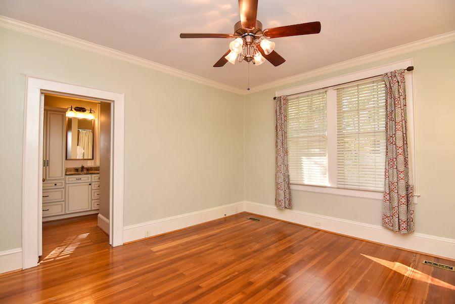 New Listing, 426 Carolina Circle in Buena Vista, Winston Salem. Master bedroom.