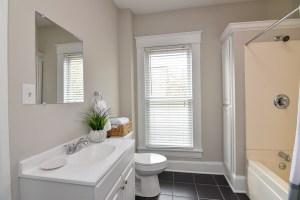 825 W 6th St, Historic West End, Winston Salem, upstairs bath