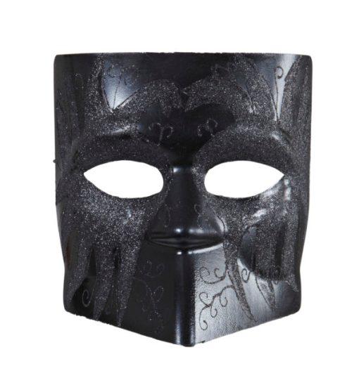 loup visage noir