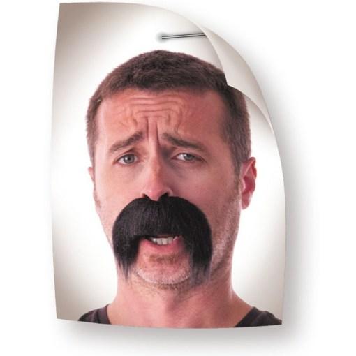 moustaches kéké noires