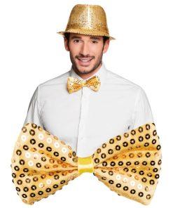 nœud papillon or
