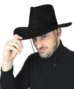 chapeau buffalo noir