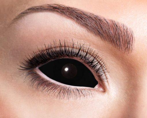 lentilles sclera noire