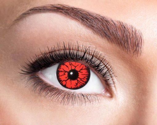 lentilles monstre rouge