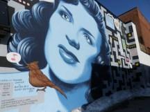 Mur coloré de Montréal