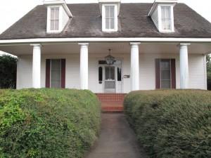 Camelia House Front Lafayette, LA