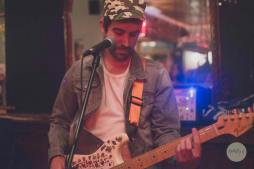 Raffa, open mic host at Pithcer & Piano and Revolution Bar