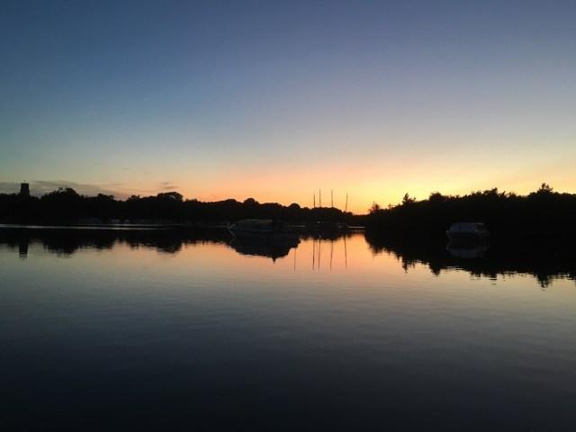 Ranworth Broad Sunset