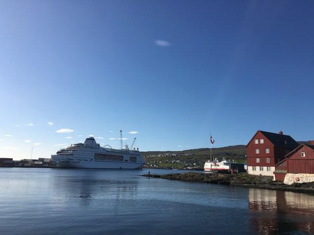 Columbus in Tórshavn