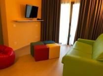 Lanzarote Mar Family Suite Living