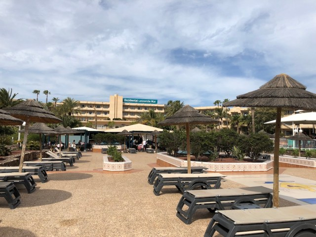 Occidental Lanzarote Mar Sun Terrace