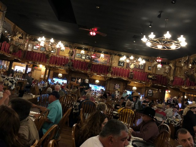 Big Texan Interior