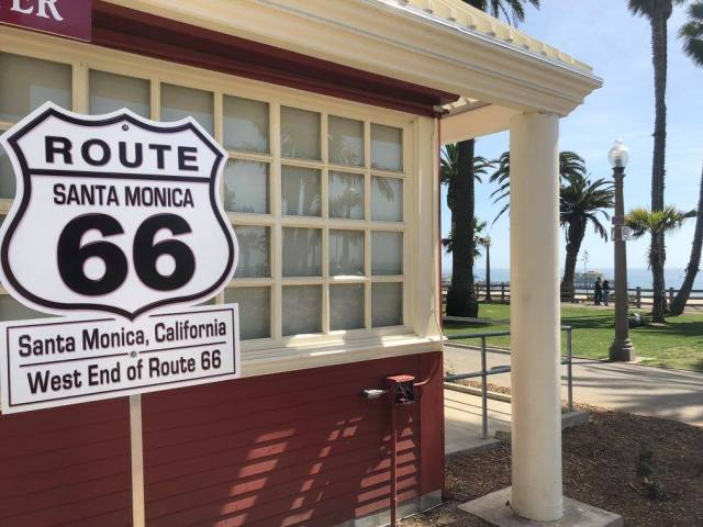 Route 66 Tourist Information Ocean Drive