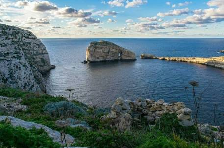 Beautiful scenery in Gozo