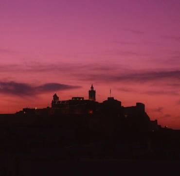 Citadella at night