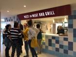 BBQ grill stall