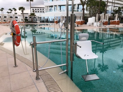 Accessible pool