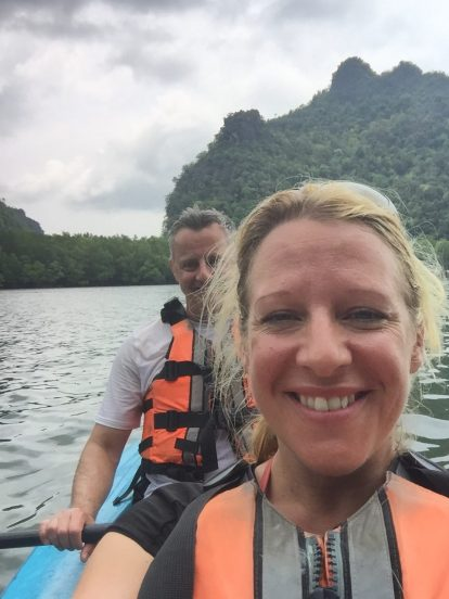 Mr & Mrs McGIllion chilling out in Malaysia