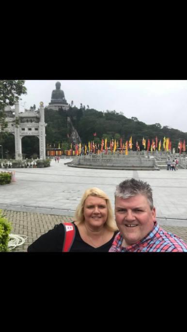 Mr & Mrs Roberts Lantau Tian Tan Buddha Hong Kong