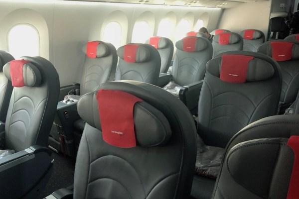 Norwegian Premium Cabin Seats