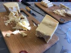 Parmigiano Reggiano tasting