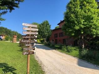 Farmhouse Signpost
