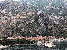 Kotor, can you spot the fortress?