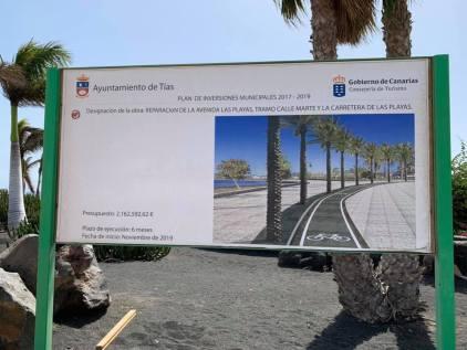 Matagorda promenade notice board
