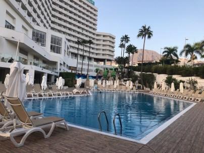Pool situated between Aquafun and sea view pool