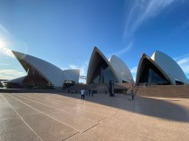 All 3 sails of the Sydney Opera House