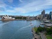 View over Circular Quay from the bridge