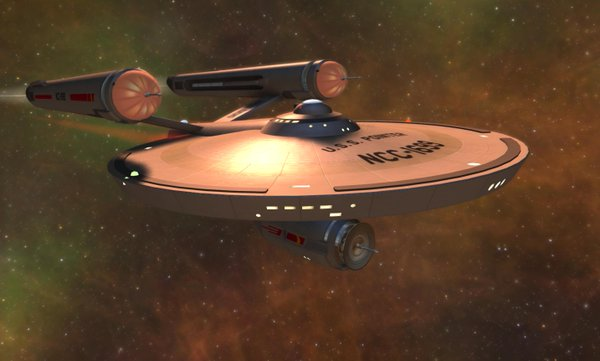 Pinoeer, the new starter ship, is a TOS version somewhere between NX-01 and Reliant