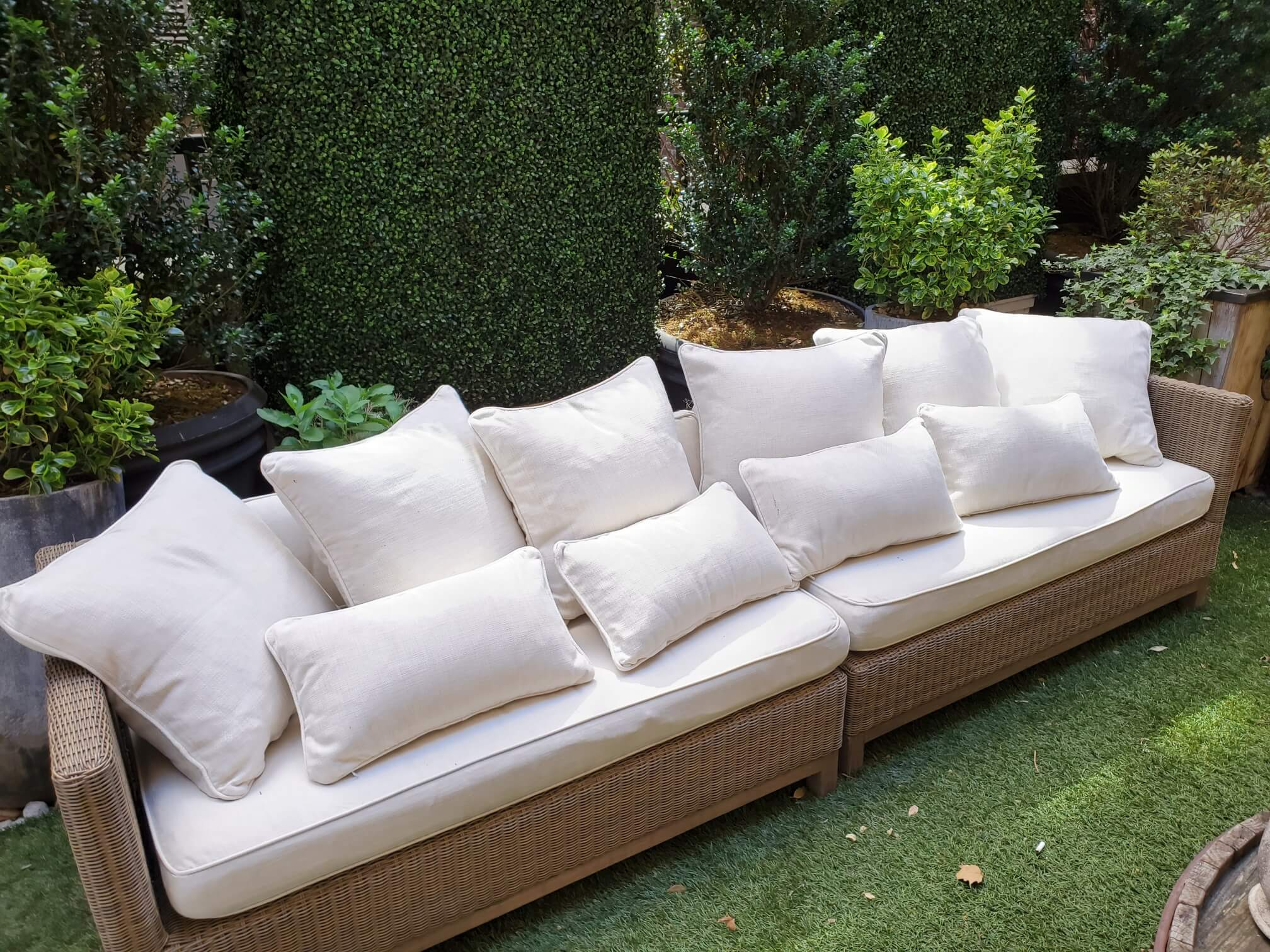 clean your patio furniture cameo cleaners