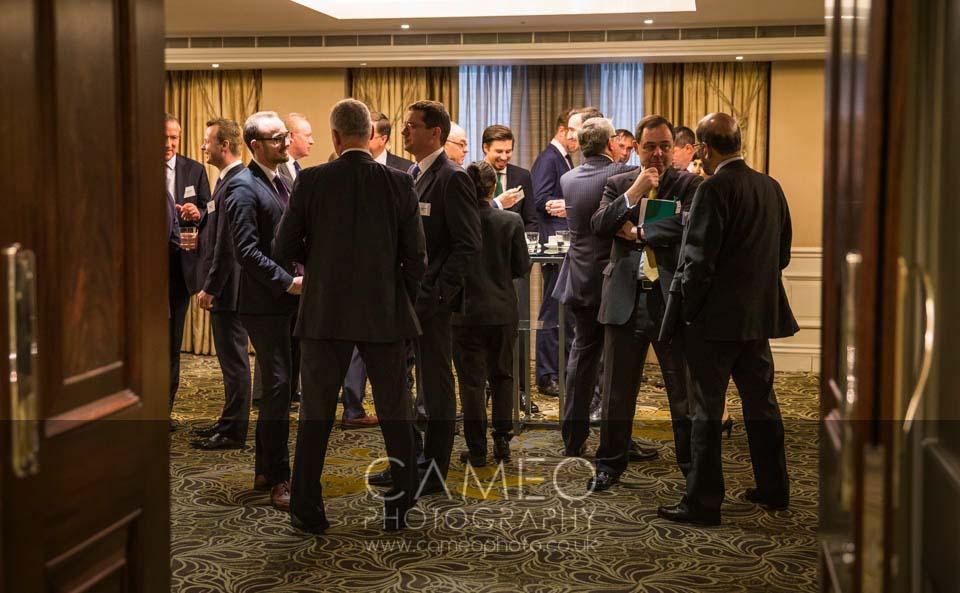 corporate event garanti bank london
