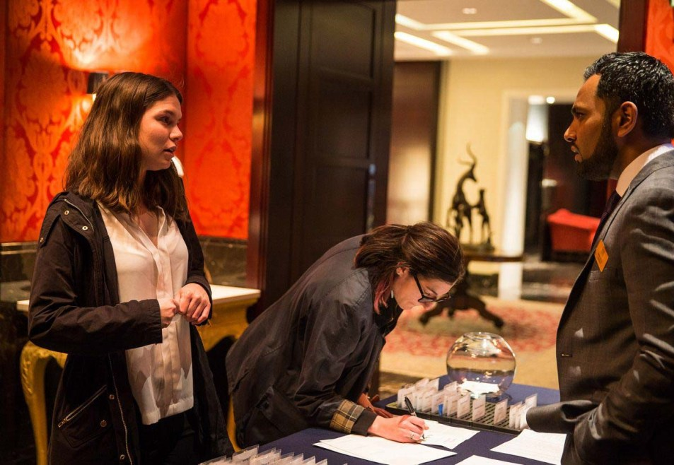 Event Photography for George Washington University at the Four Season Hotel London by Cameo Photography 11