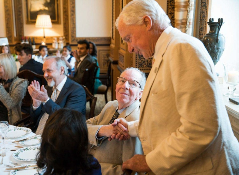 Golden Wedding Anniversary at the Lanesborough Hotel London by Cameo Photography 12