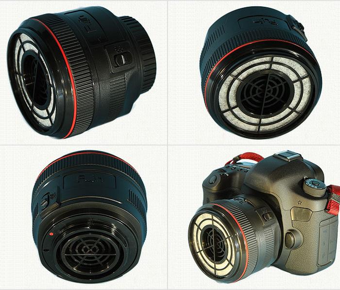 世界初!レンズ型カメラ掃除機「風塵(ふうじん)」さま