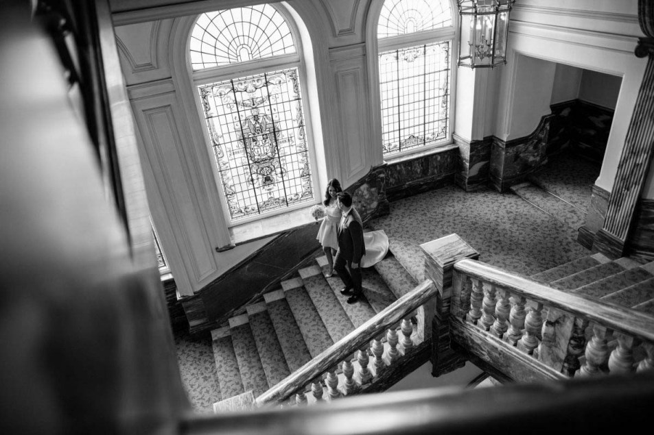 Wedding Photography at The Landmark London Florian & Imane27