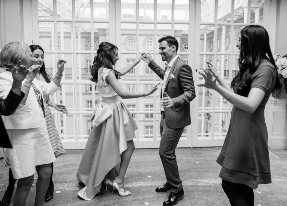 Wedding Photography at The Landmark London Florian & Imane29