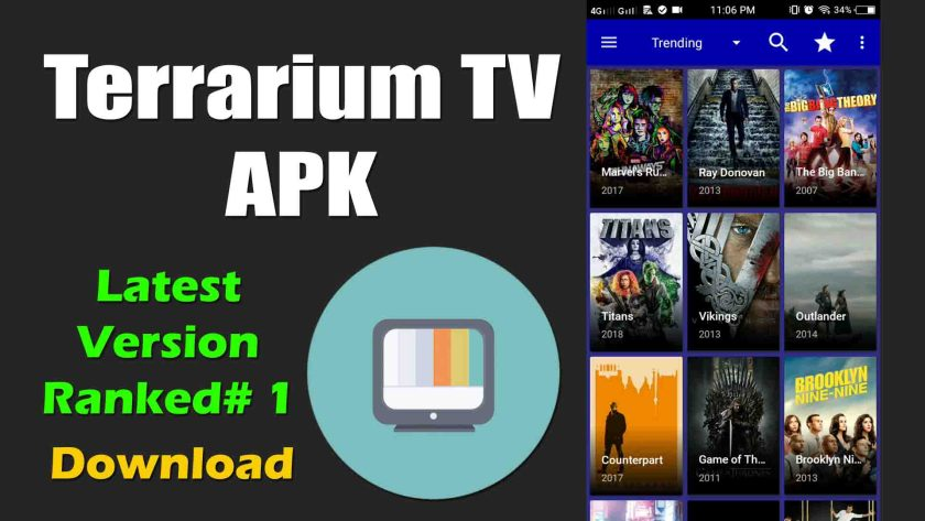 Terrarium TV apk free download for android