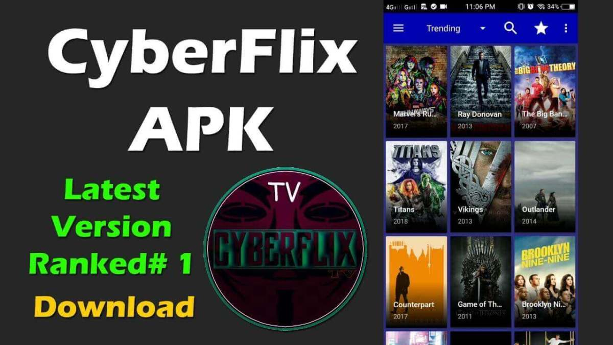 Cyberflix TV APK Download [Android iOS] iPhone, Firestick/PC