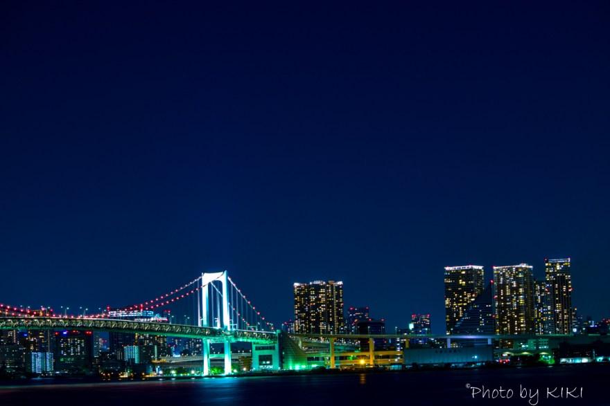 豊洲夜景撮影