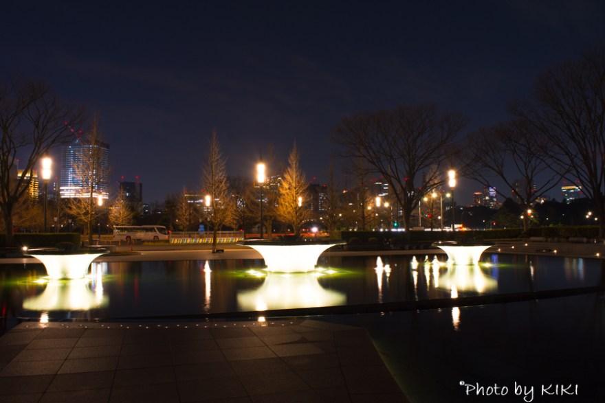 皇居周辺夜景撮影
