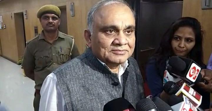मुख्य सचिव अनूप चंद्र पांडेय ने की वीडियो कांफ्रेस