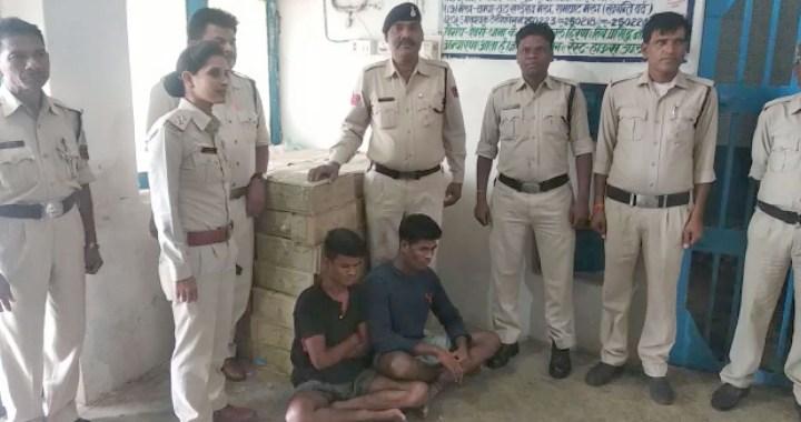 देवरी पुलिस ने 41 पेटी शराब जब्त की, दो आरोपी गिरफ्तार