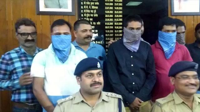 आॅनलाइन ठगी करने वाले 4 आरोपी गिरफ्तार